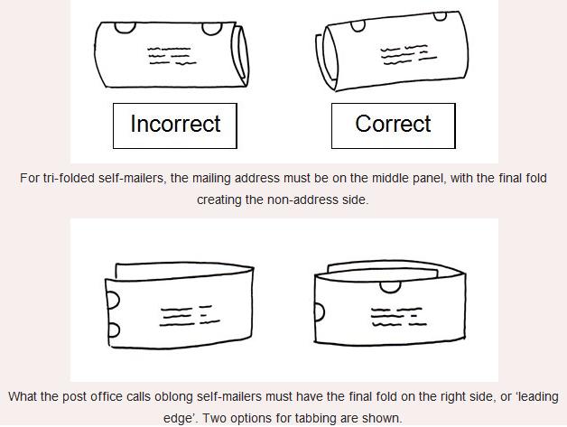 tri fold self mailer template